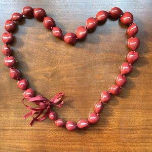 NEW 🌴 Red Kukui Nut Necklace 🌴